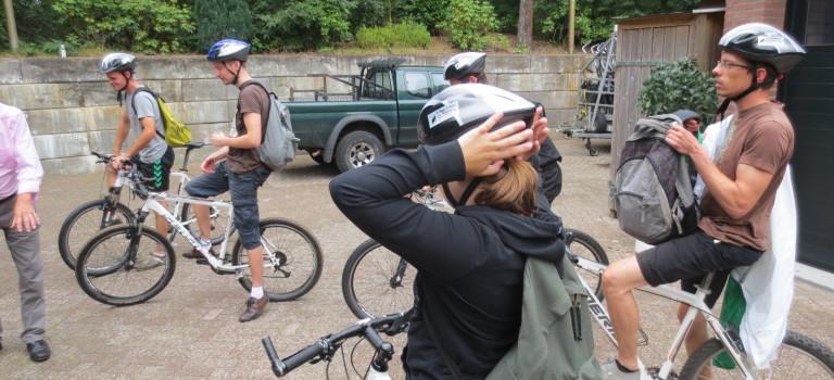 Mountainbiken met de Stam