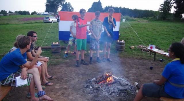 Zomerkamp scouts