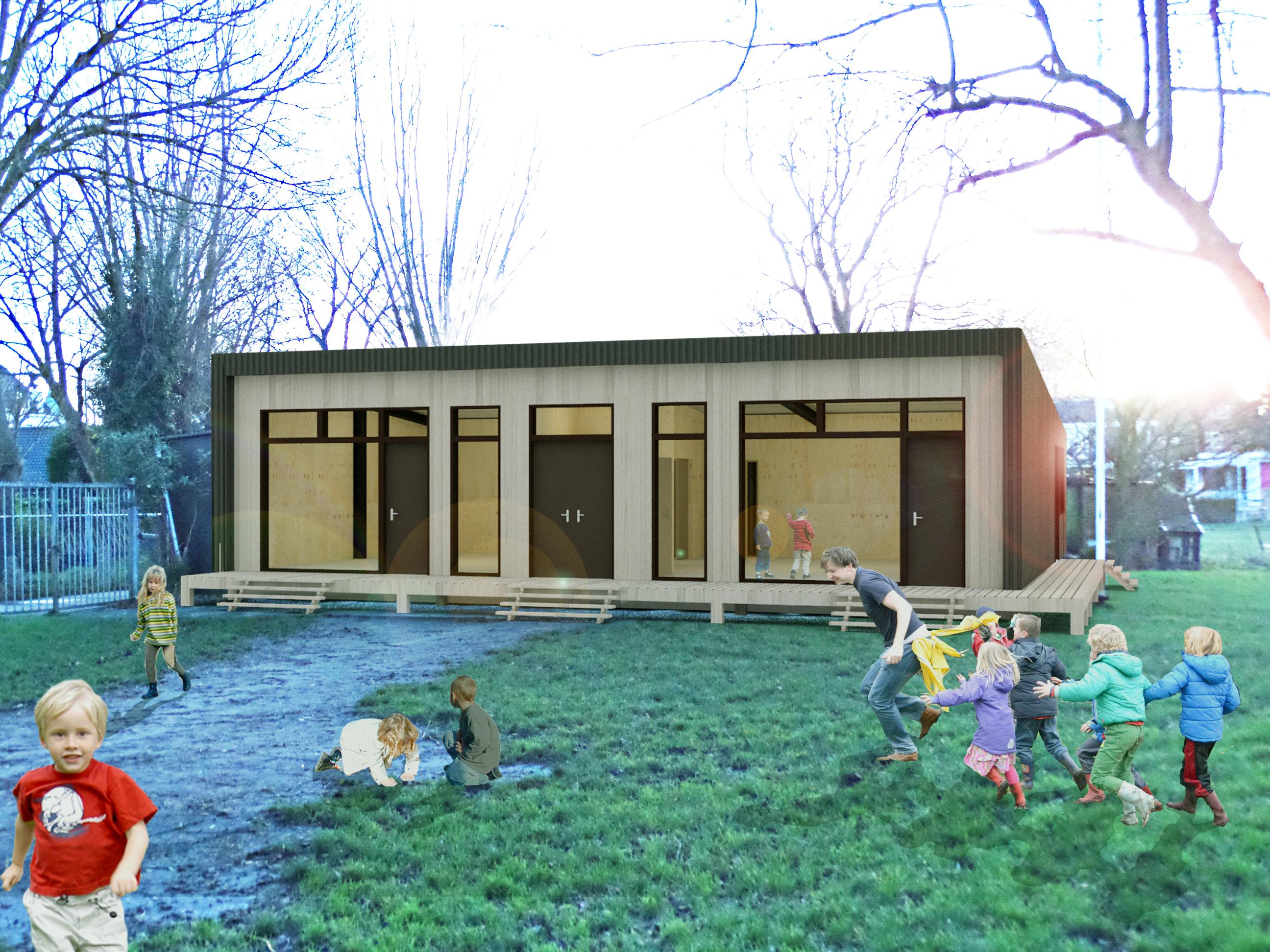 Nieuw clubhuis concept