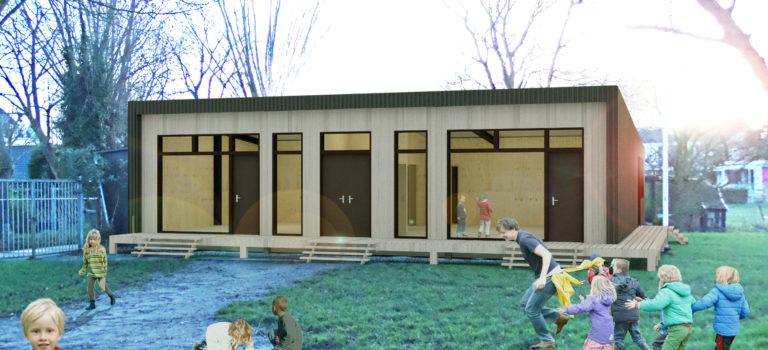 Concept nieuw clubhuis