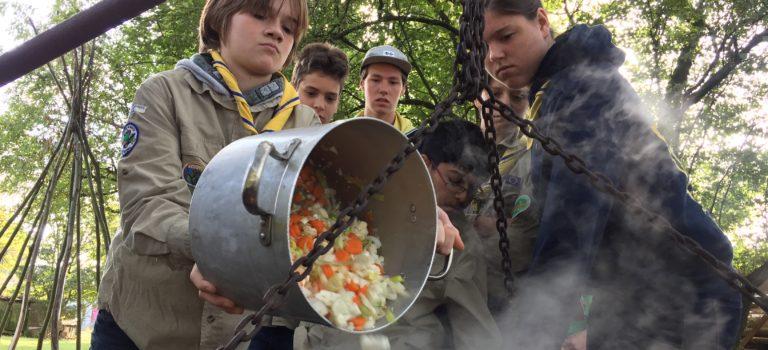 Voorbereiden kookwedstrijden